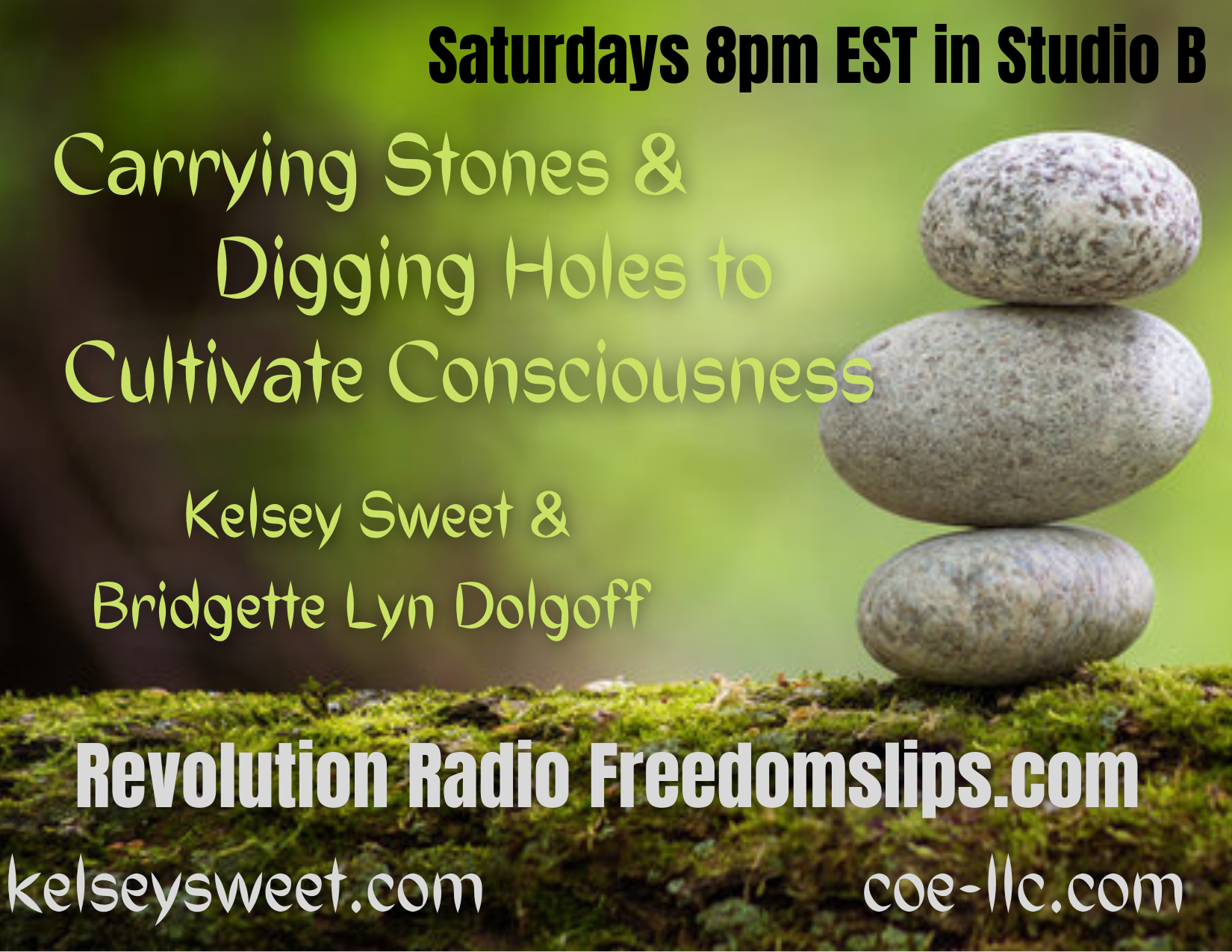 CARRYING STONES & DIGGING HOLES TO CULTIVATE CONSCIOUSNESS ON REVOLUTION RADIO Carrying-Stones-Digging-Holes-to-Cultivate-Consciousness